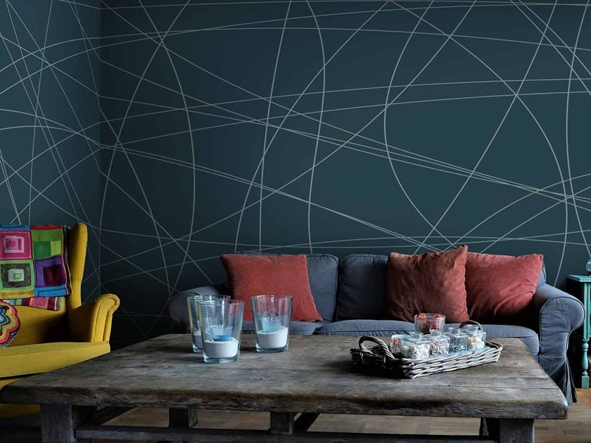 Digital printing wallpaper CURV XL by LGD01