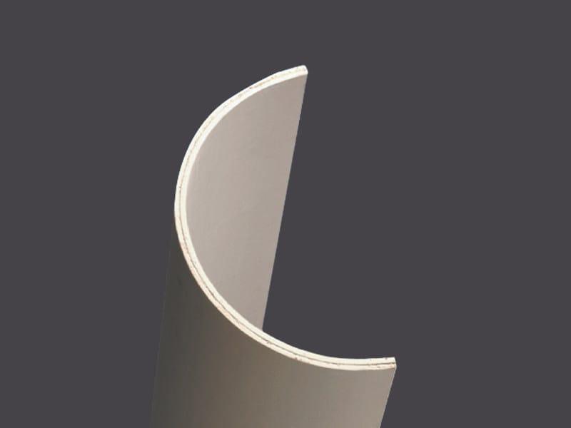 Profiles in plasterboard for columns 2 ml CURVOGIPS HALF-COLUMNS 2,00 ML by Gyps
