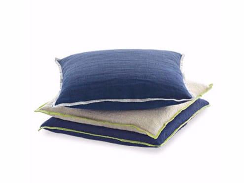 Square fabric cushion SLIM | Cushion by Arcom