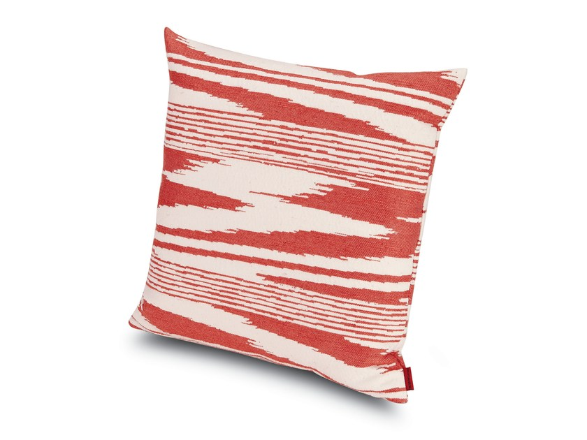 Contemporary style square fabric cushion SAFI | Cushion by MissoniHome