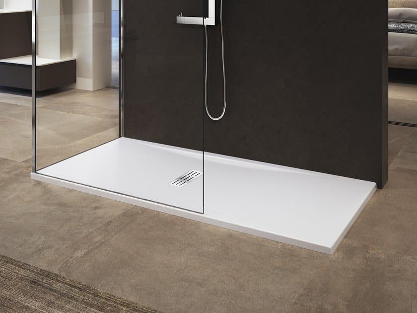Rectangular acrylic shower tray CUSTOM | Shower tray by NOVELLINI
