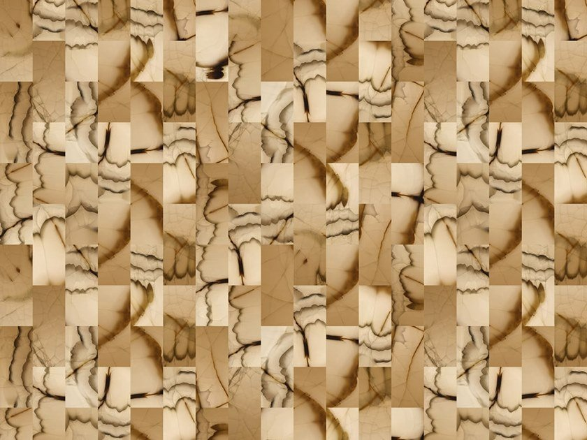 Digital printing wallpaper CUT STONE by Architects Paper