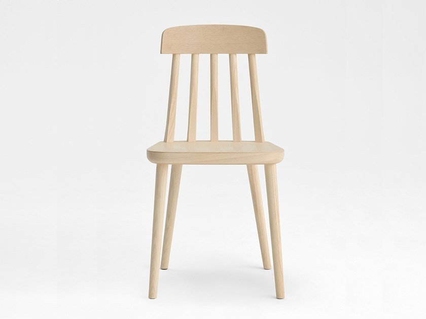 Ash chair CUT | Wooden chair by SIPA