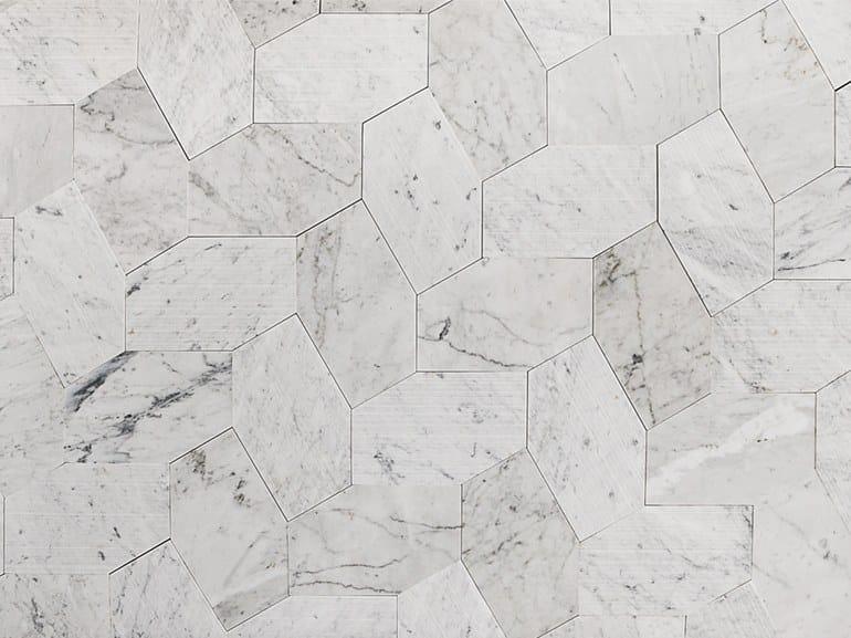 Marble wall/floor tiles CUTCUT by Lithos Mosaico Italia
