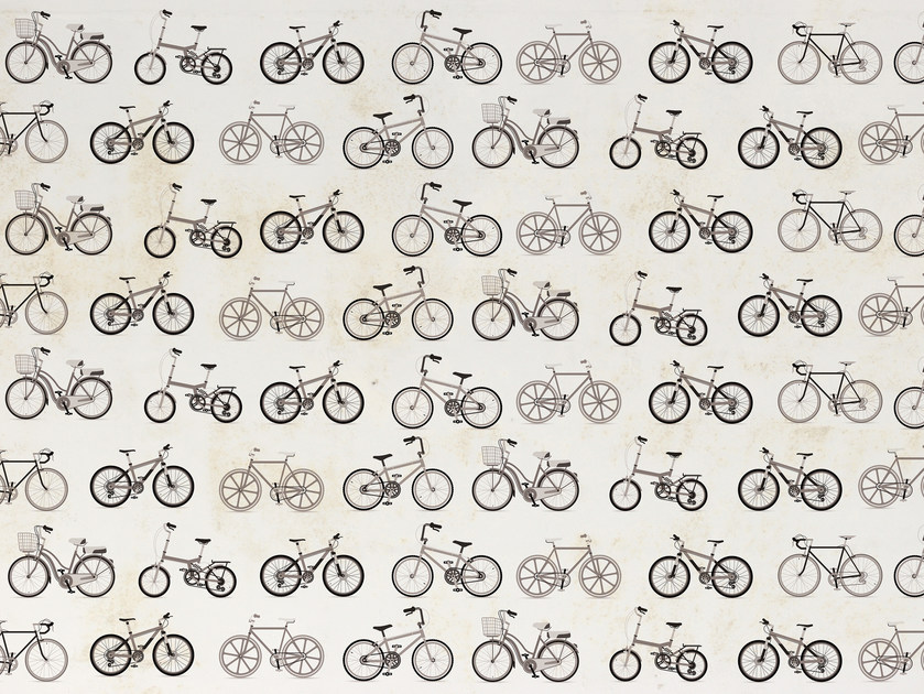 Wallpaper / floor wallpaper CYCLE RACE by Texturae