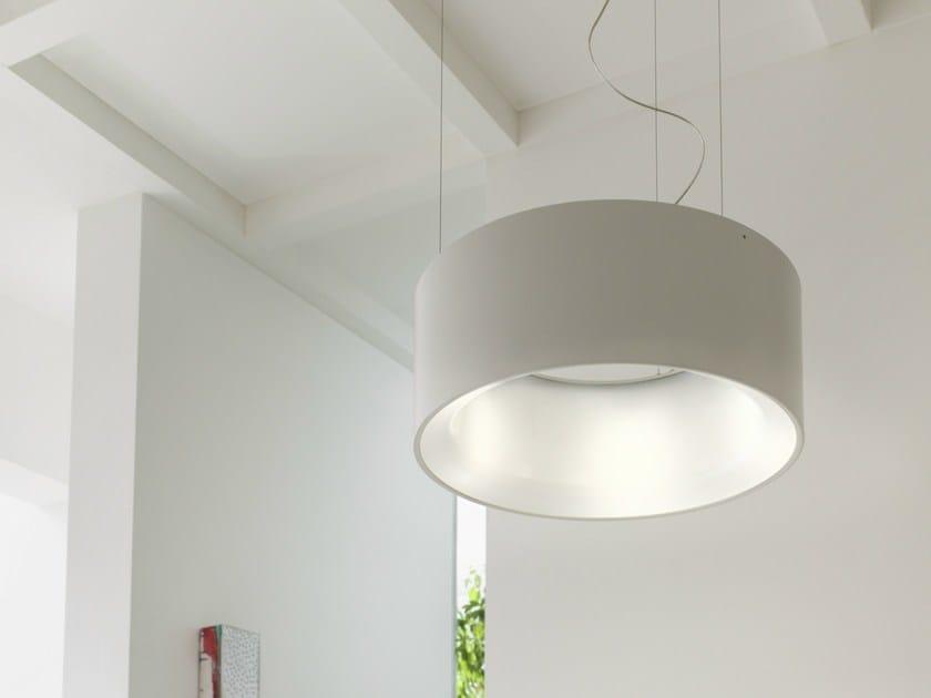 Aluminium pendant lamp CYCLOS   Pendant lamp by Lucente