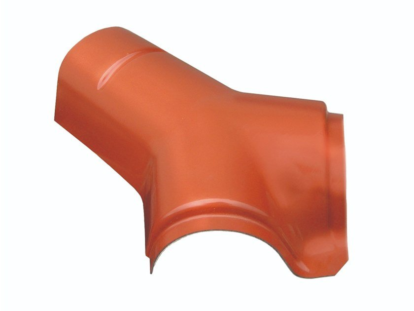 Colmo a tre vie color terracotta opaco CYCPTOP by First Corporation