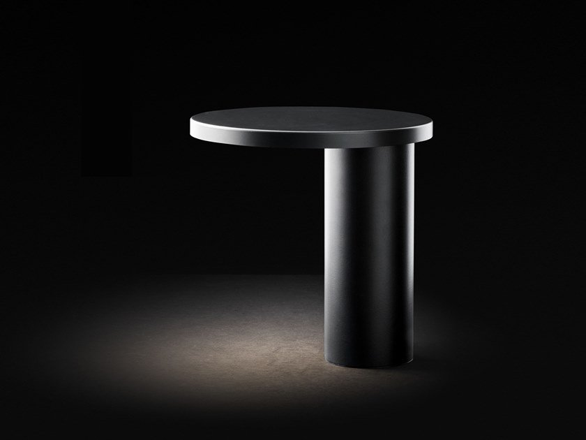 Table lamp OLUCE - CYLINDA 218 Black by Archiproducts.com