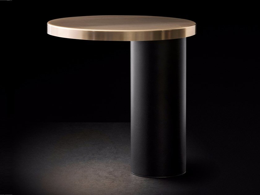 Table lamp OLUCE - CYLINDA 218 Gold by Archiproducts.com