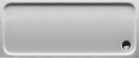 Rectangular acrylic shower tray D-CODE | 170 x 70 by Duravit
