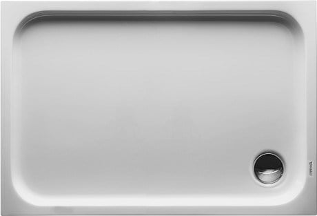 Rectangular acrylic shower tray D-CODE | 110 x 75 by Duravit