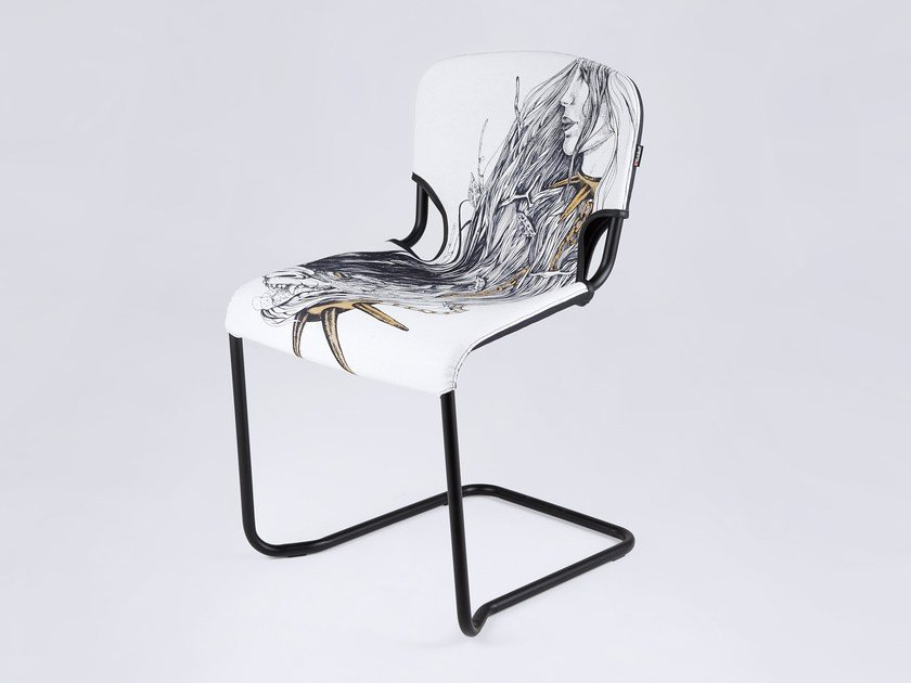 Cantilever chair D-LIGHT BEAUTY AND THE BEAST by KUBIKOFF