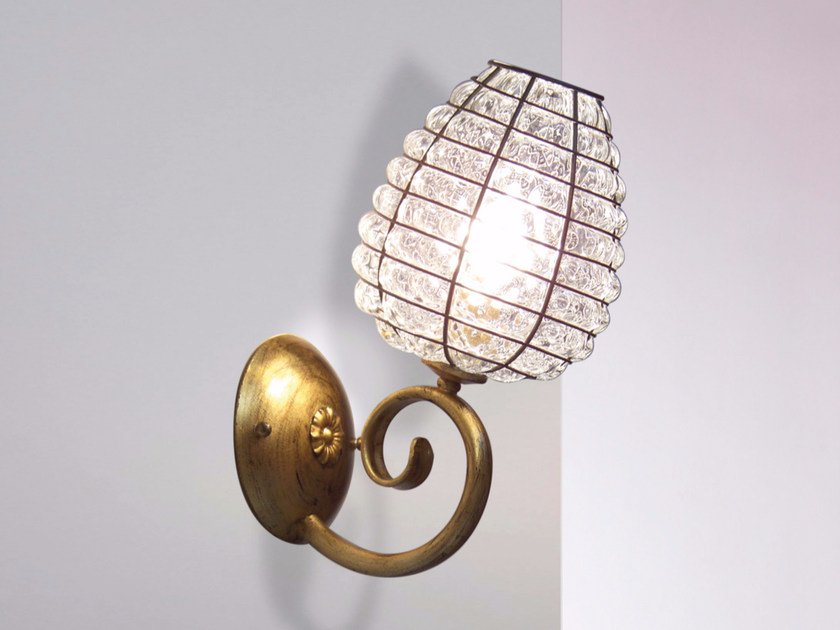 Murano glass wall lamp ALVEARE MB 311 by Siru