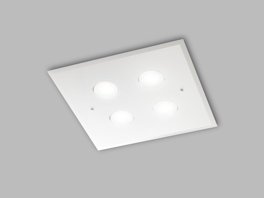 LED glass ceiling lamp DADO L 40 x 40 by Metal Lux