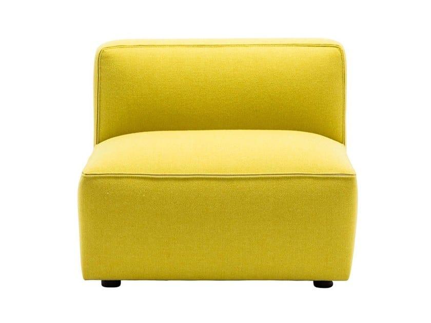 Fabric armchair DADO SF0301 by Andreu World