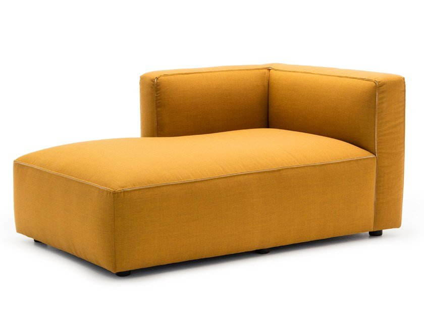 Upholstered fabric day bed DADO SF0307 by Andreu World