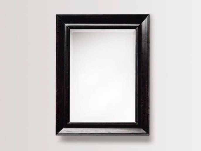 Rectangular wall-mounted framed mirror DAHLIA by BATH&BATH