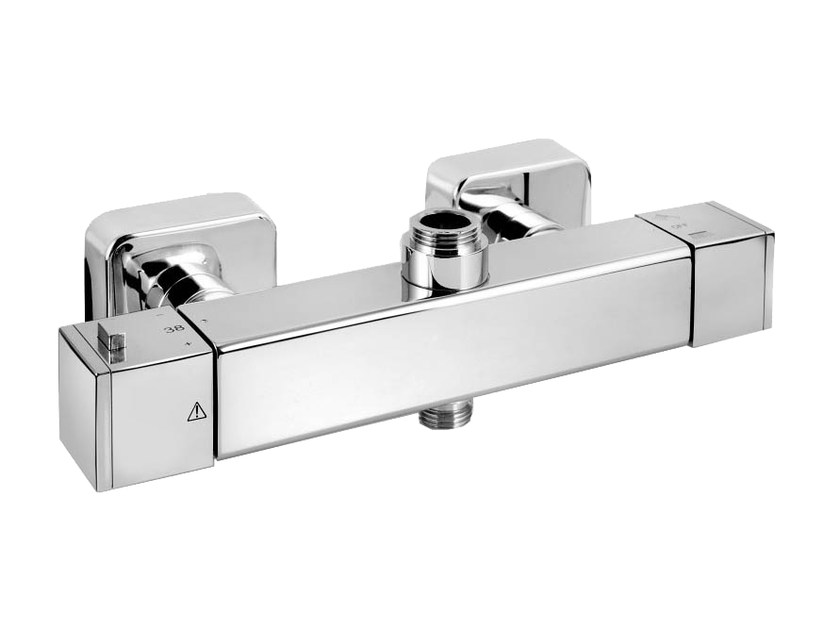 2 hole thermostatic shower mixer with diverter DAILY 44 - 4484872 by Fir Italia
