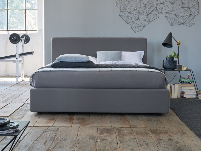 Upholstered double bed DAILY by Dorelan