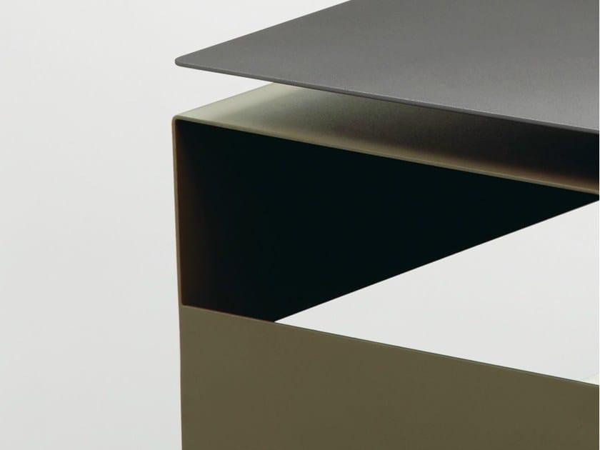 Tavolino rettangolare in lamiera DAIQUIRI By da a design Studio Klass JUIJNS