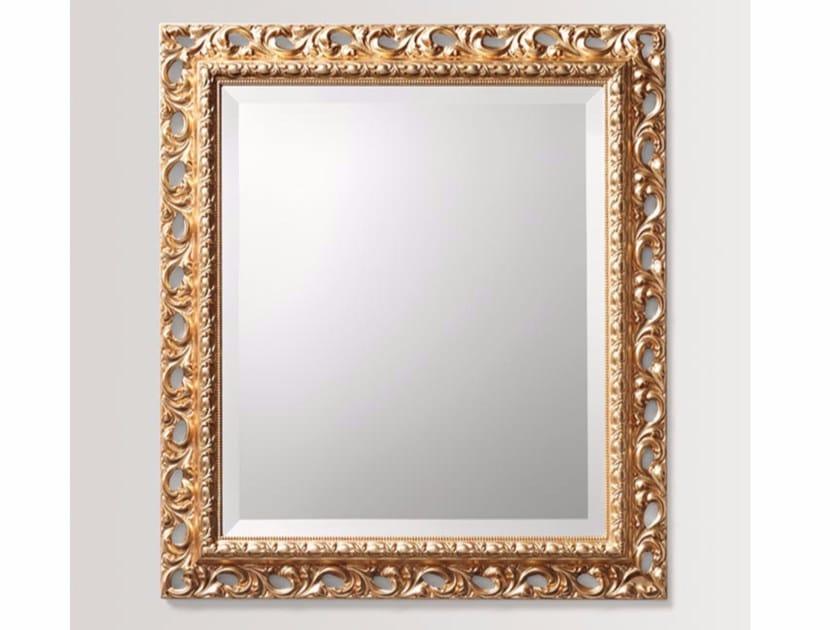Specchio rettangolare a parete con cornice DAISY by BATH&BATH