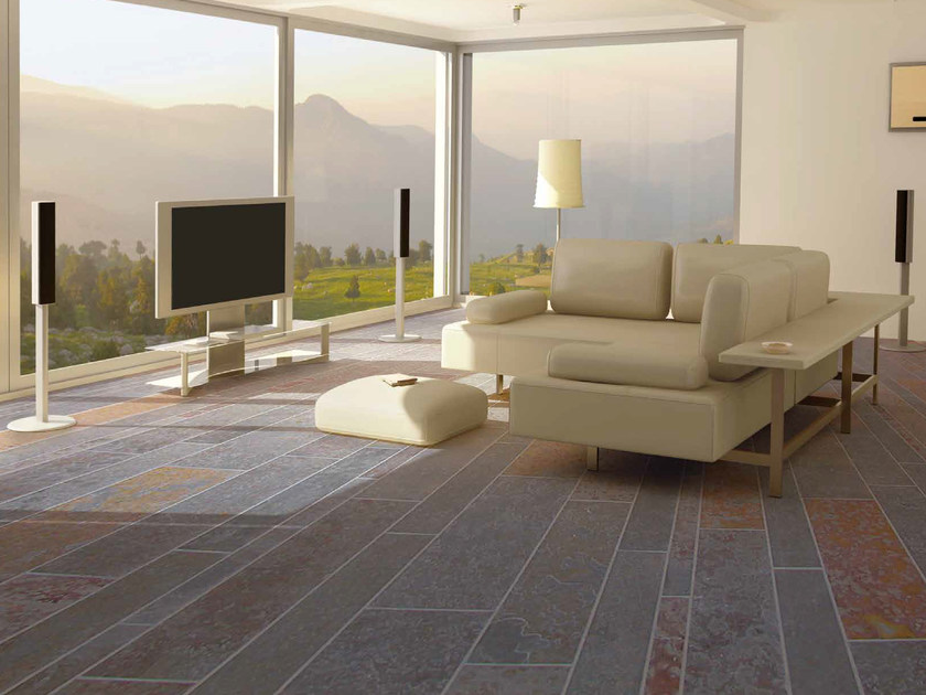 Slate Outdoor Floor Tiles DAKOTA By RECORD