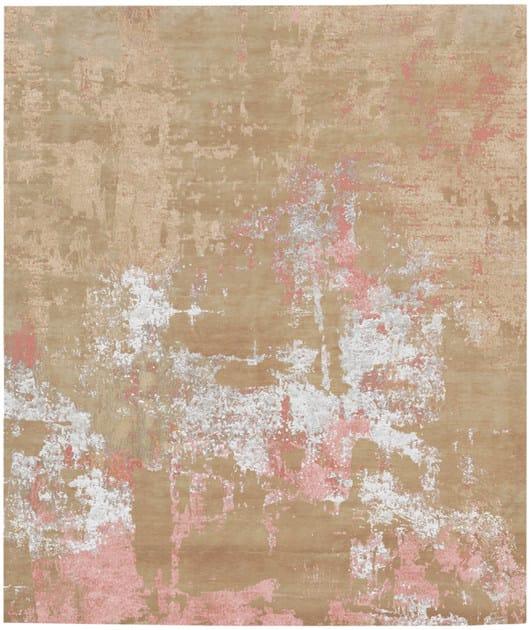 Handmade rectangular rug DALHAGEN by HENZEL STUDIO