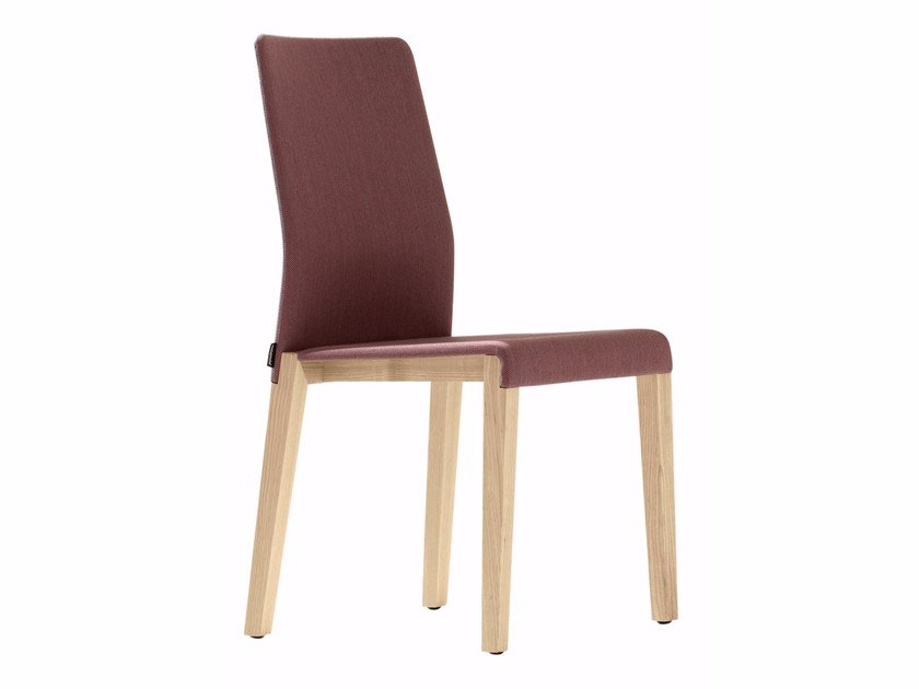 Upholstered fabric chair DALTON 662 by Metalmobil