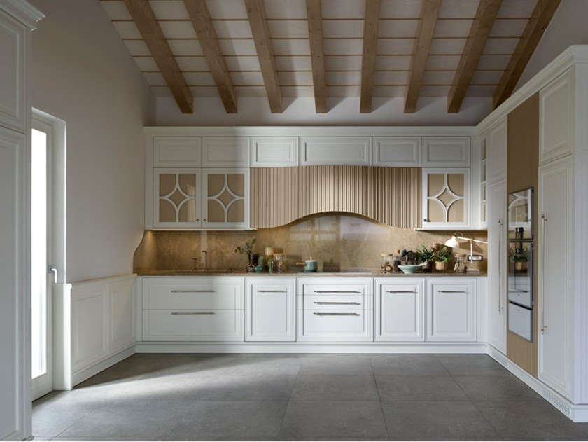 Classic style fitted kitchen DAMA by Prestige