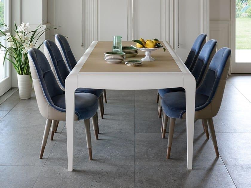 Extending rectangular wooden table DAMA | Table by Prestige