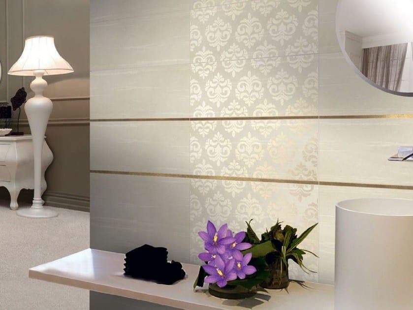 Rivestimento in ceramica bicottura damascato collezione modus by