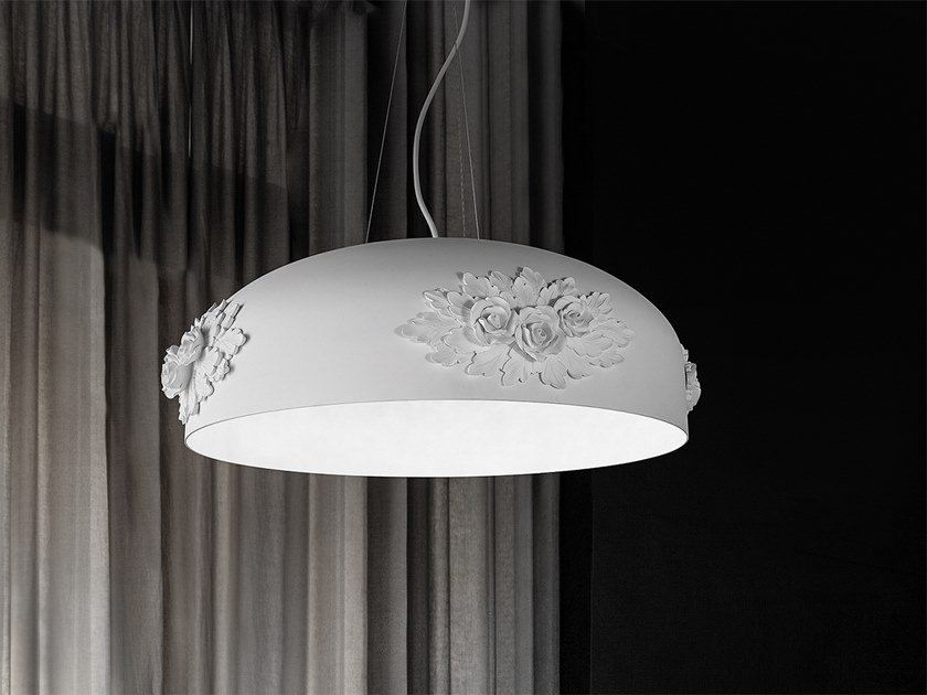 Lampada a sospensione a LED a luce diretta in alluminio DAME S65 by Masiero