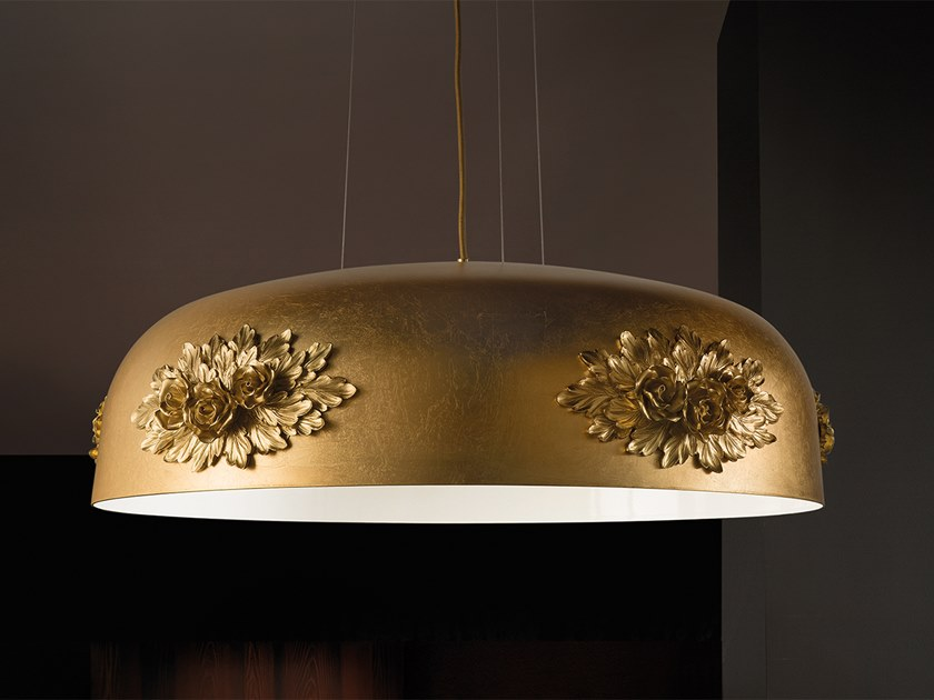 Lampada a sospensione a LED a luce diretta in alluminio DAME S80 by Masiero