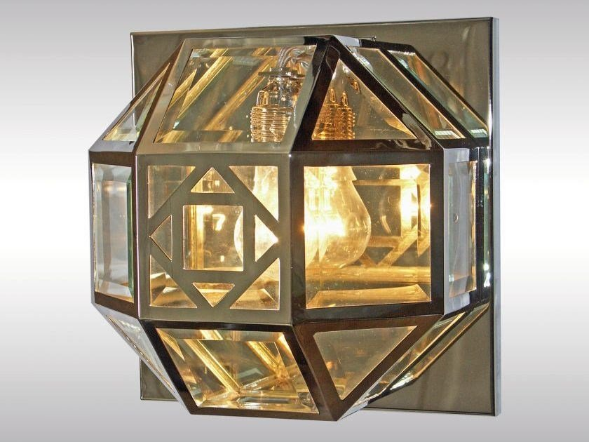 Classic style wall lamp DAMENSALON PURKERSDORF by Woka Lamps Vienna