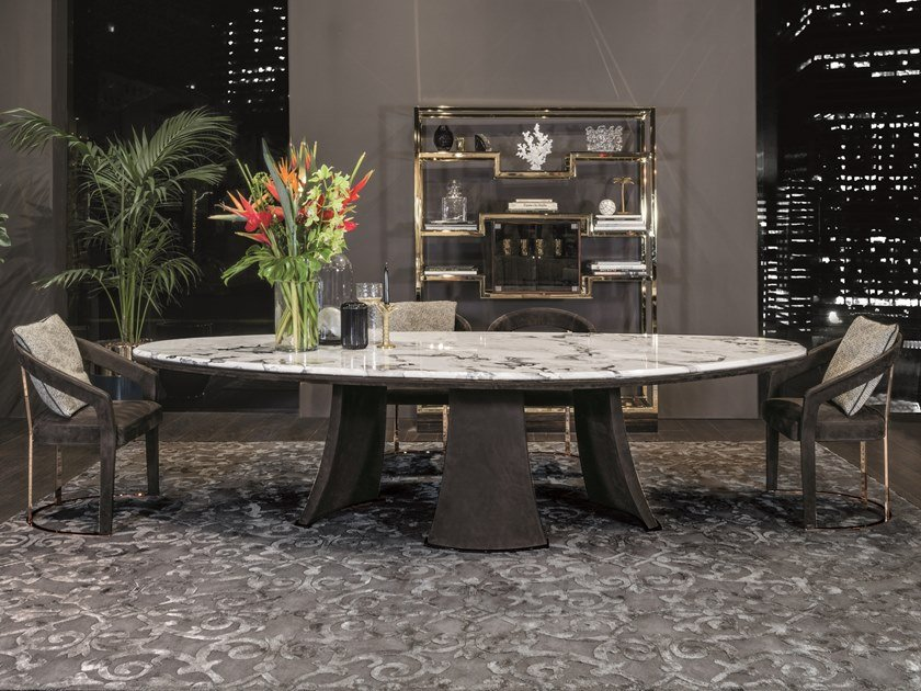 Dining table DAMIEN | Table by Longhi