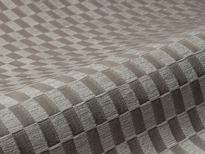 Upholstery fabric with graphic pattern DAMIER by Aldeco