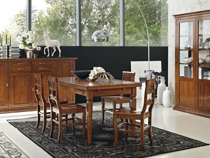Extending rectangular table DAMIGELLA   Table by Devina Nais