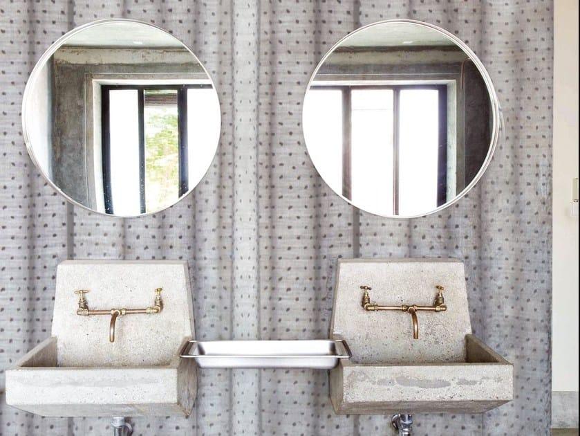 Bathroom wallpaper DANCING CURTAINS by Wall&decò