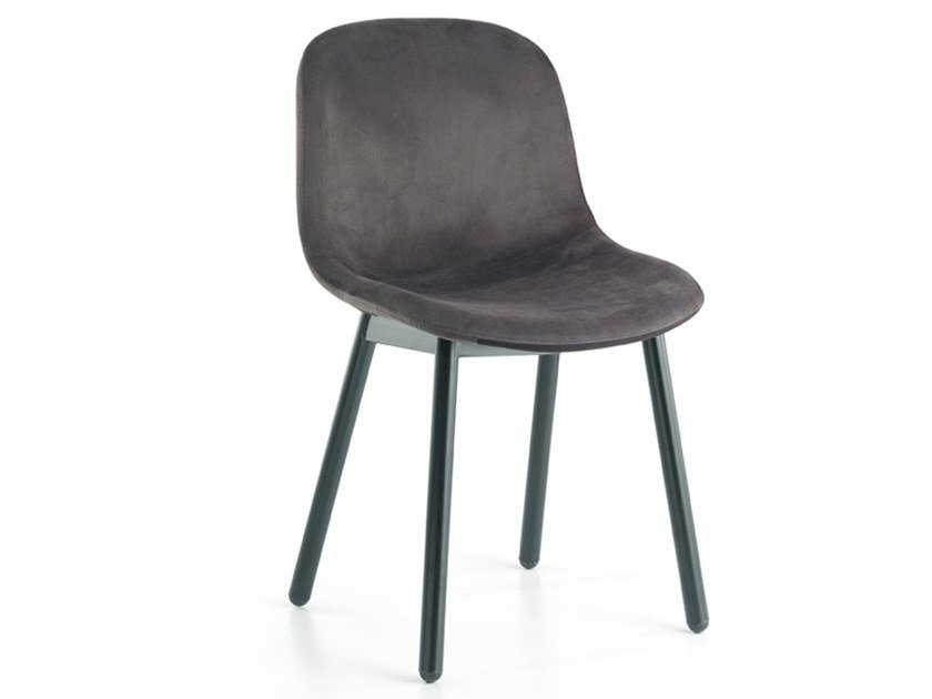 Upholstered fabric chair DANI | Chair by Oliver B.