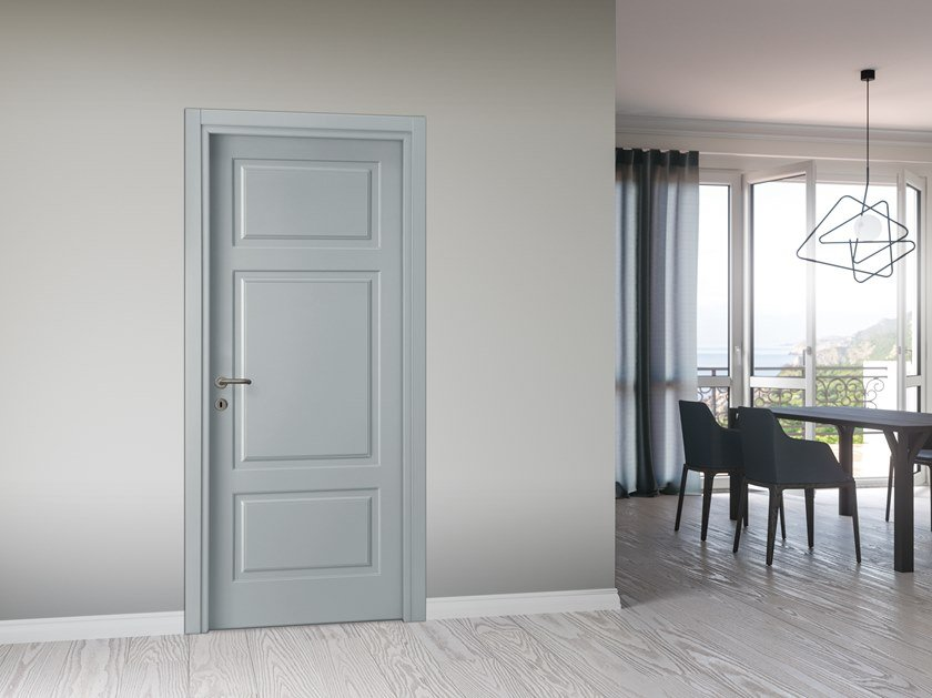 Hinged lacquered door DANIELI by DIERRE