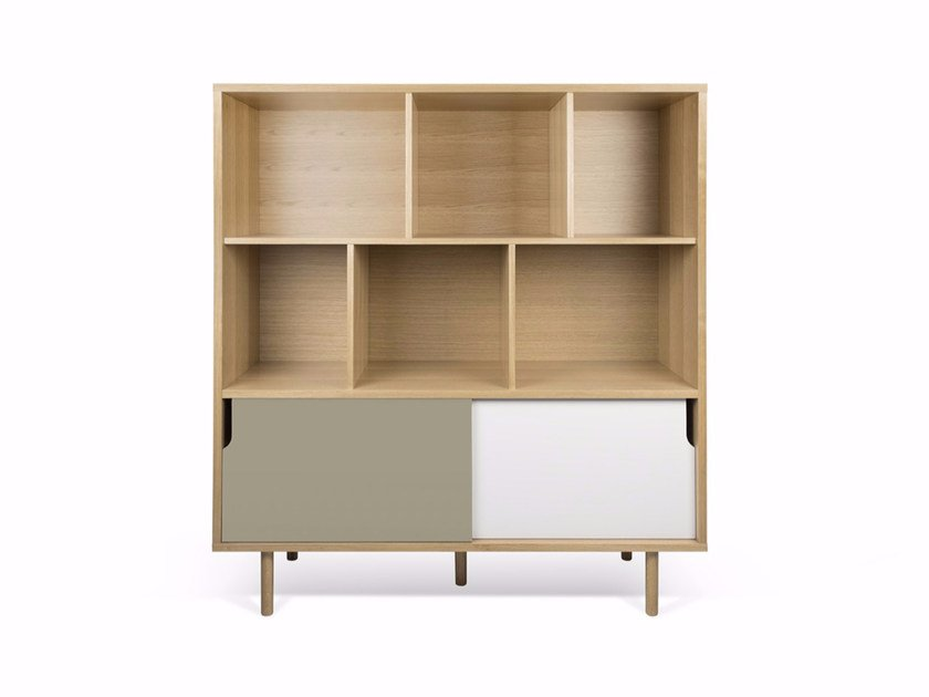 Highboard with sliding doors DANN | Highboard by TemaHome