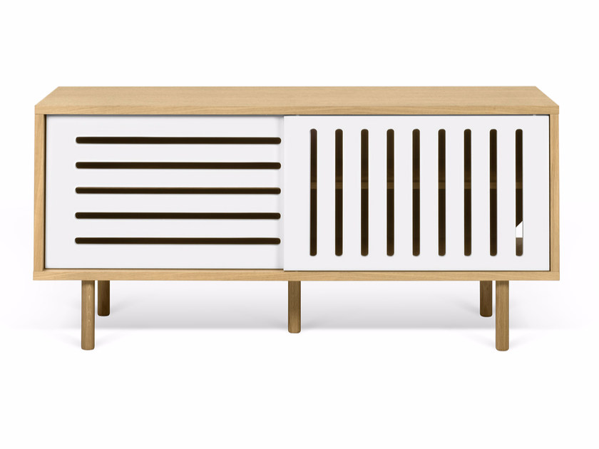TV cabinet with cable management DANN STRIPES | TV cabinet by TemaHome