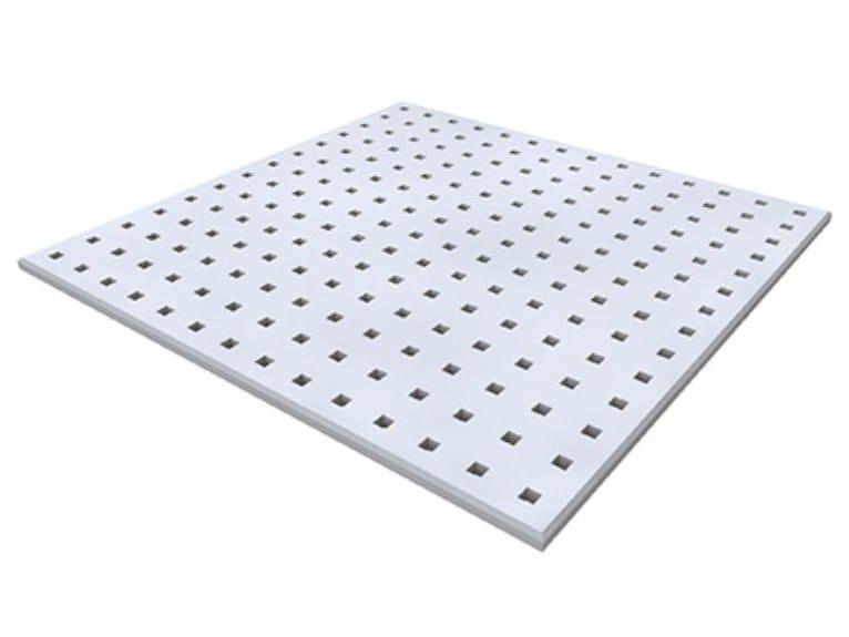 Gypsum ceiling tiles DANOPANEL QUADRIL Q1 by Knauf Italia