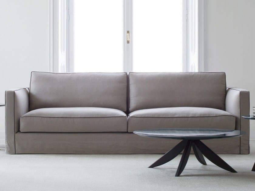 4 seater fabric sofa DANTON | Fabric sofa by BertO