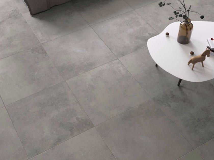 Pavimento in gres porcellanato DARK GREY by GranitiFiandre