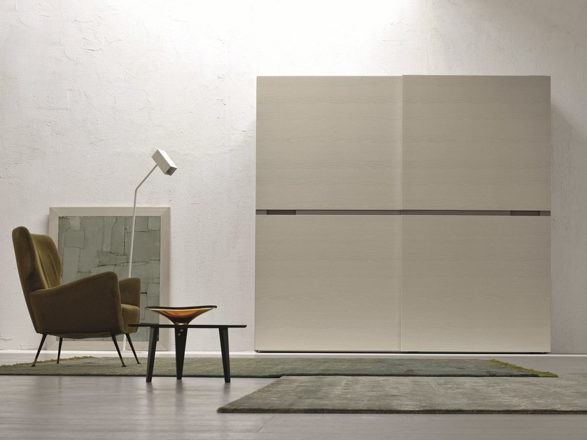 Sectional wardrobe with sliding doors DARLING by Febal Casa