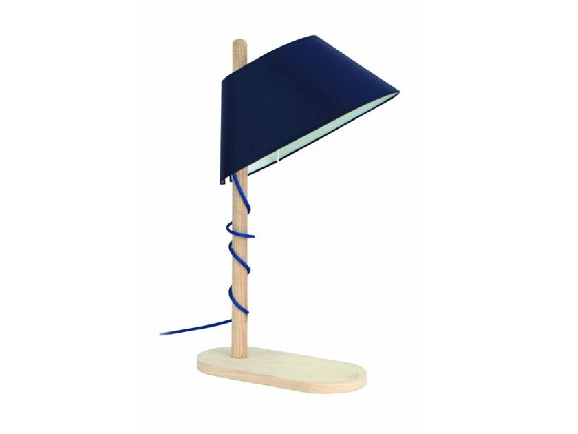 Wooden table lamp DARLING | Table lamp by Flam & Luce