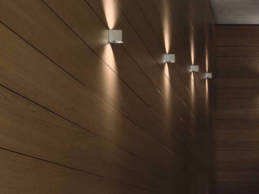 LED direct-indirect light wall lamp with dimmer DAU LED 6281 by Milan Iluminacion
