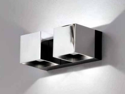 LED direct-indirect light wall lamp with dimmer DAU LED 6398 by Milan Iluminacion
