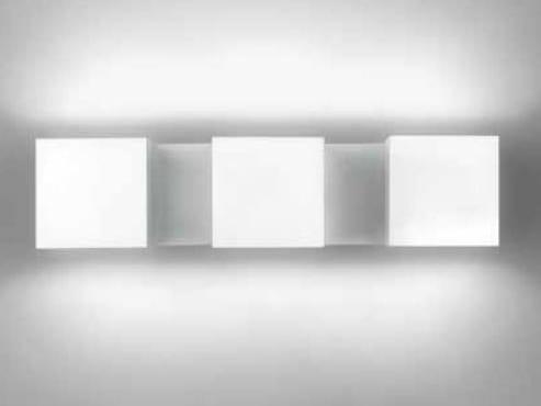 Plafoniere Da Parete A Led : Lampada da parete a led luce diretta e indiretta con dimmer dau